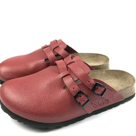 1237a5dc000e Birkenstock Shoes - NEW Birkenstock Red Mules Clogs Size 6